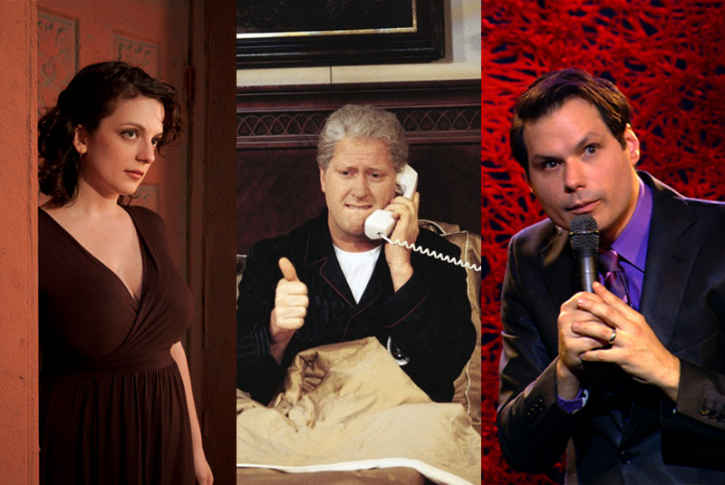 Sara Benincasa, Darrell Hammond and Michael Ian Black