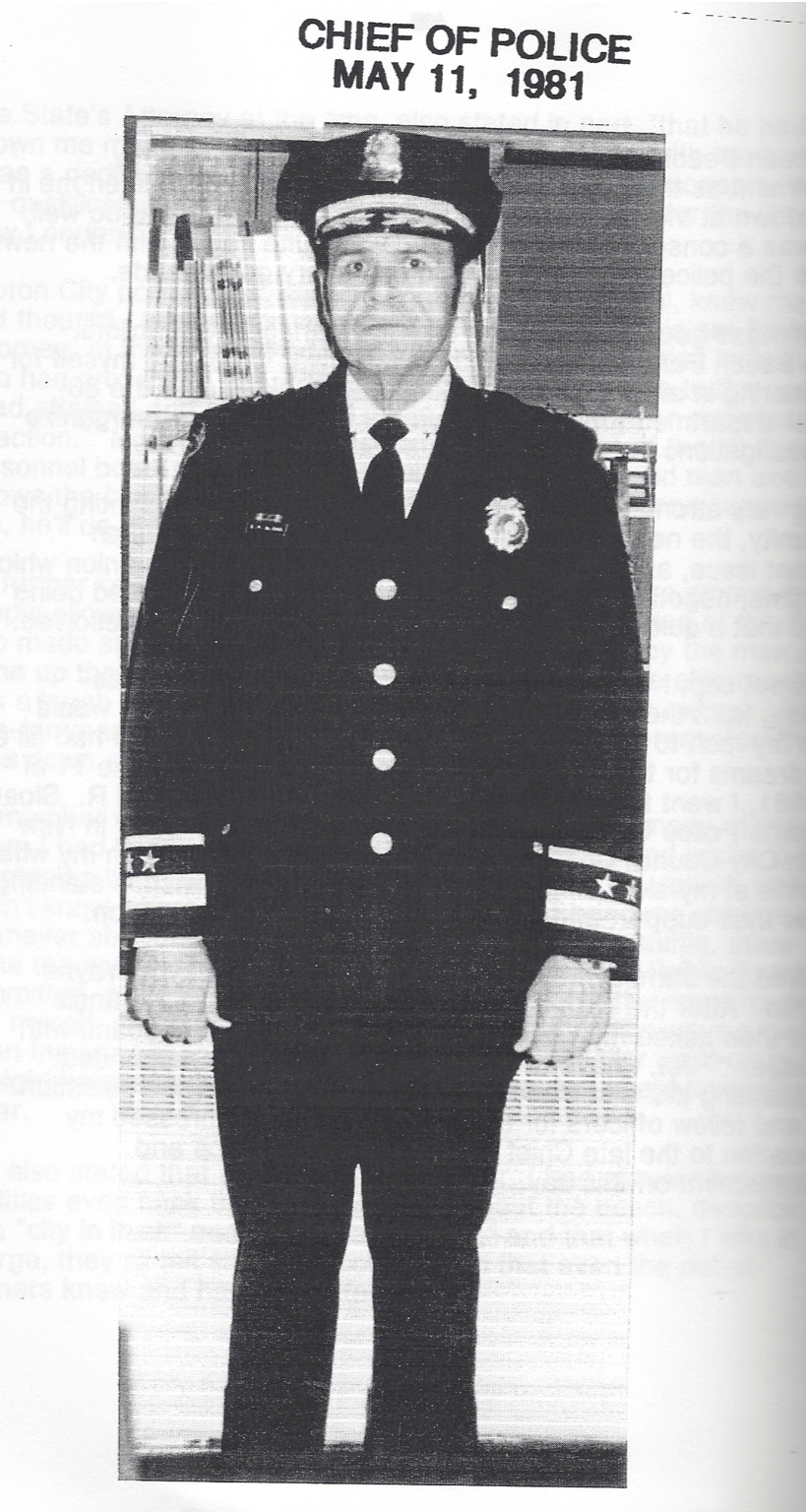 Sloan became New London's chief after 30+ years as both a beach cop and a street cop. (Credit: All images from  My Journey from Beach Cop to Police Chief )