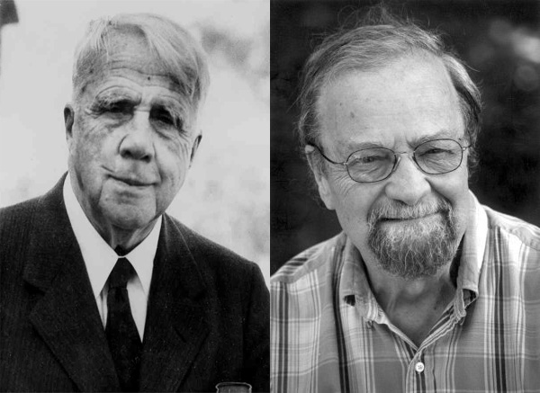 Robert Frost and Donald Hall