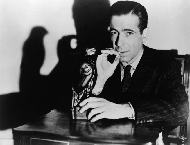 Humphrey Bogart as Sam Spade in  The Maltese Falcon