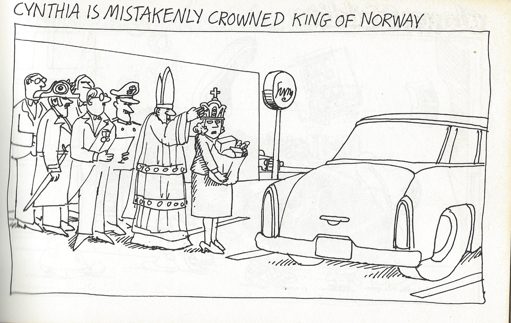 Cynthia Is Mistakenly Crowned King of Norway
