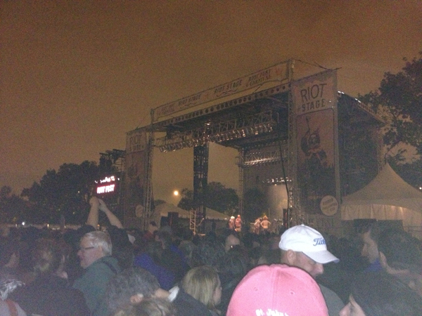 The Replacements at Riot Fest ... at a distance (Credit: Photo by author)