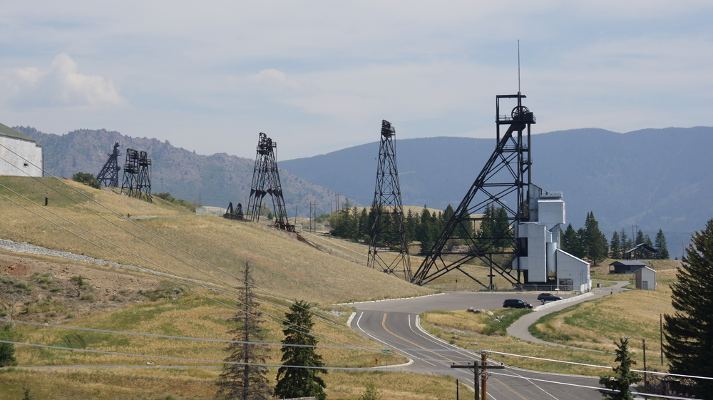 Headframes in Butte (Credit: Image from Flickr user Rex Brown; used with Creative Commons license)