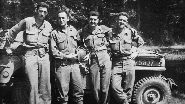 Salinger on left