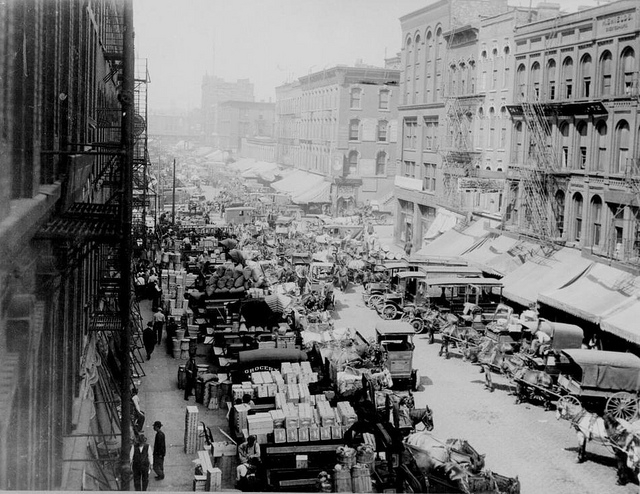 Chicago's Wholesale District in 1915