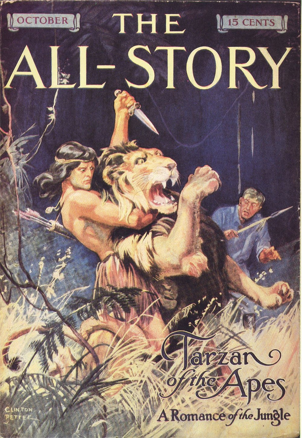 The All Story Tarzan of the Apes Edgar Rice Burroughs.jpg