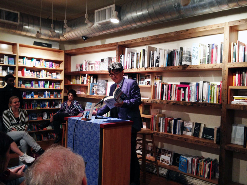 Sherman Alexie reading at Book Court