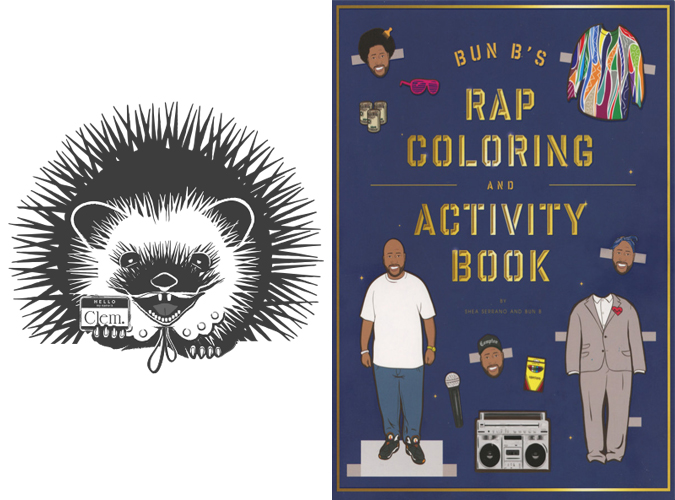 Clementine\'s Weekly Reading Series: Bun B\'s Rap Coloring and ...
