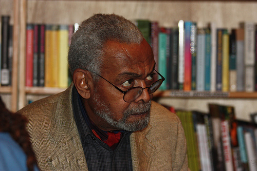 Amiri Baraka (Credit: Image from Flickr user T. Carrigan; used with Creative Commons license)