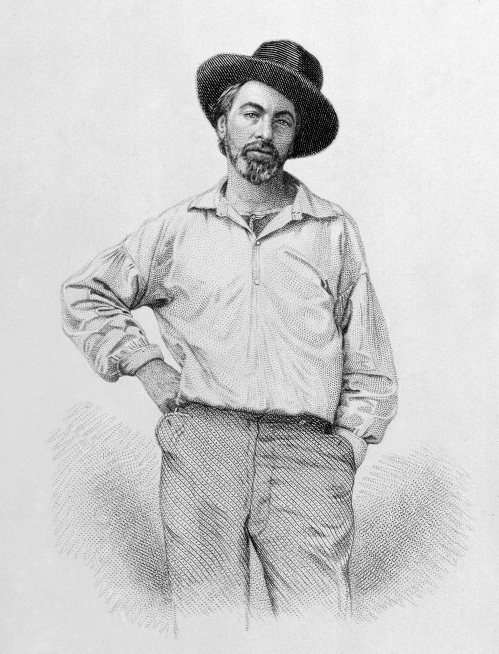 Walt Whitman Leaves of Grass Portrait.jpg