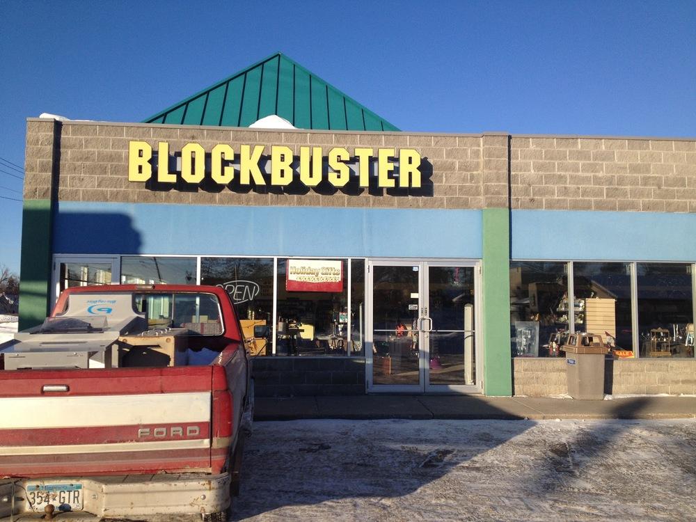 Blockbuster Video in Bemidji, Minnesota (Credit: All photos by author)