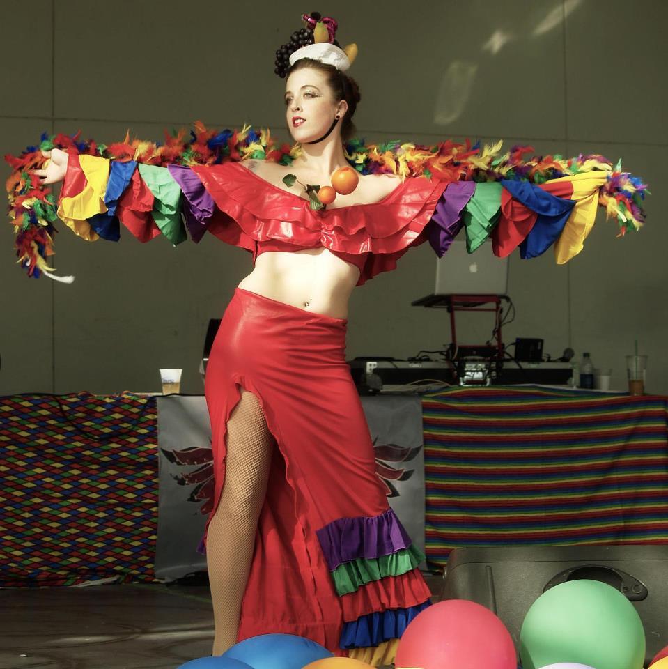 Jodi Hahn at the 2012 Gay Pride