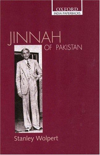 Jinnah of Pakistan Stanley Wolpert.jpg