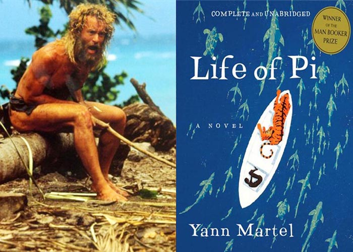 Not a major motion picture the literary equivalents of 10 for Life of pi book characters