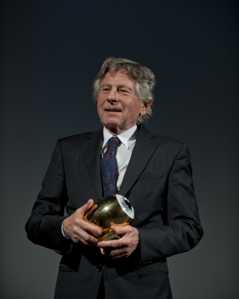 Polanski accepting an award in 2011 (Credit: Image from Wikimedia user Zff2012)