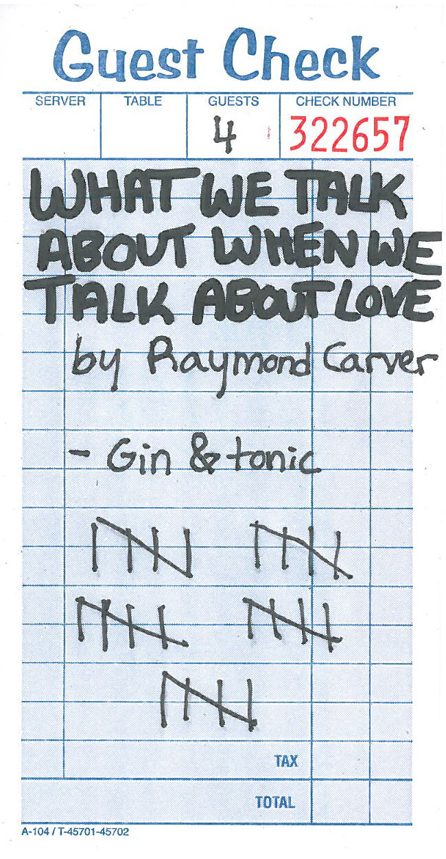 what we talk about when we talk about love essays In what we talk about when we talk about love by raymond carver we have  the theme of love and the difficulties that can come with trying.