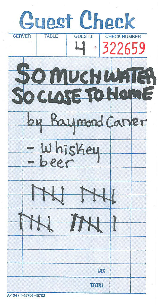 How many drinks does it take to make a raymond carver story the the craziest thing about tallying the drinks in these stories is that it hardly does the drinking justice half the time stories begin with another drink biocorpaavc Gallery