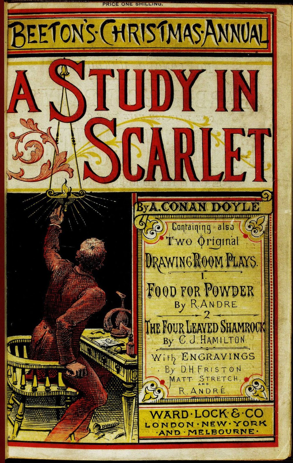 the issues of the victorian era in a study in scarlet a novel by arthur conan doyle Doyle, arthur conan doyle, arthur conan (1859–1930), british writer sir arthur conan doyle, one of the most widely known writers in the world, was born in edinburgh, scotland, on 22 may 1859 doyle was a man of three nations: irish by descent, scottish by birth, and english by allegiance.