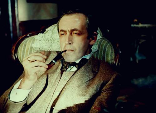 Vasily Livanov as Sherlock Holmes.png