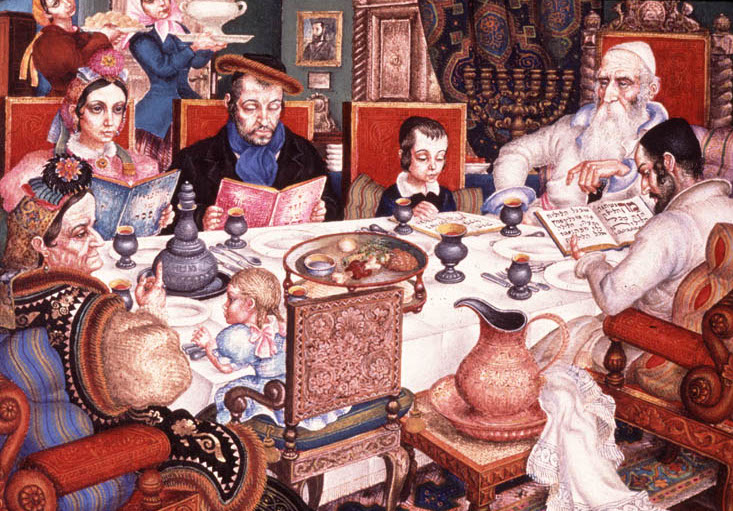 """""""Passover"""" by Arthur Szyk"""