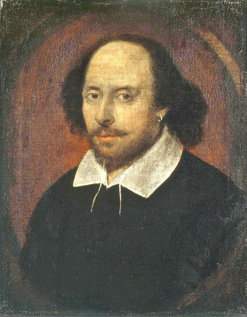 Portrait of Shakespeare from 1610