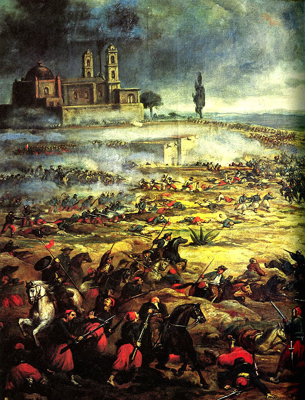 The Battle of Puebla commemorated by Cinco de Mayo