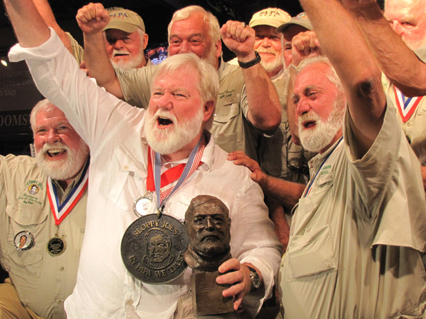Will the real Hemingway please sit down? You've almost certainly had too much to drink.