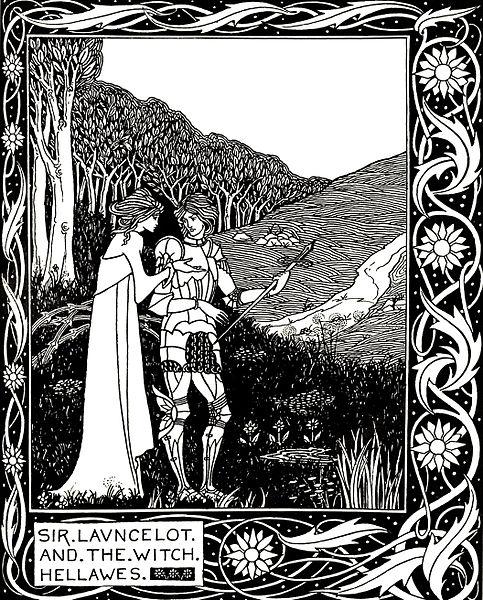 Illustration from   Le Morte d'Arthur
