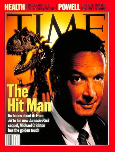 Michael Crichton: September 25, 1995