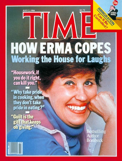 Erma Bombeck: July 2, 1984