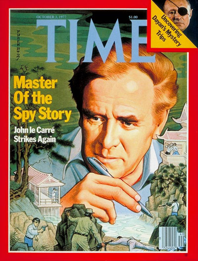 John le Carre: October 3, 1977