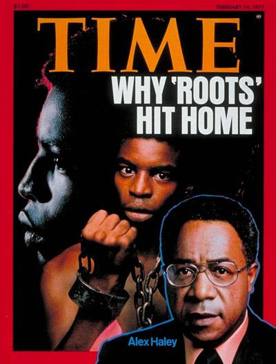 Alex Haley  :   February 14, 1977