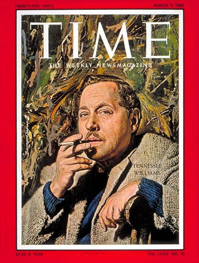 Tennessee Williams: March 9, 1962