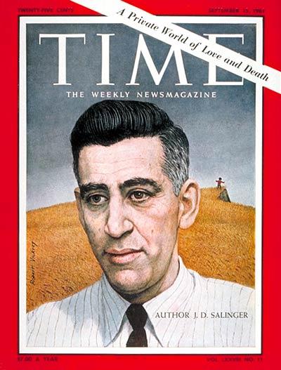 J.D. Salinger:     September 15, 1961