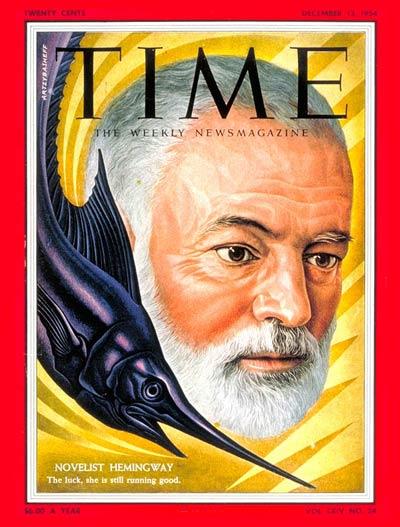 Ernest Hemingway: December 13, 1954