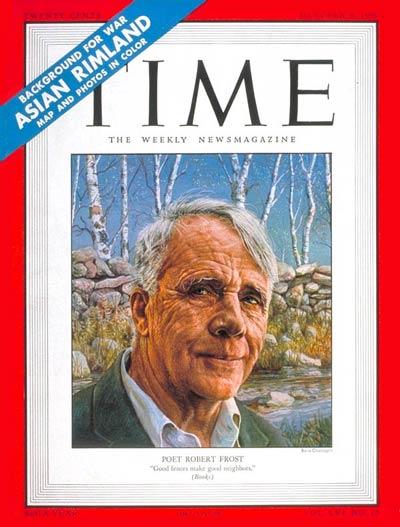 Robert Frost: October 9, 1950