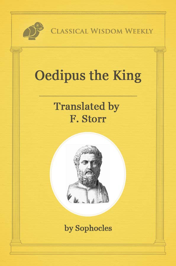 an analysis of the prophecy in oedipus the king Oedipus o wealth and empiry and skill by skill outwitted in the battlefield of life, what spite and envy follow in your train see, for this crown the state the reason that aristotle admired oedipus the king so much is that the protagonist's downfall is caused by his own actions we are moved to fear and pity.