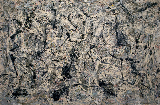 """Number 28 (1950)"" by Jackson Pollock"