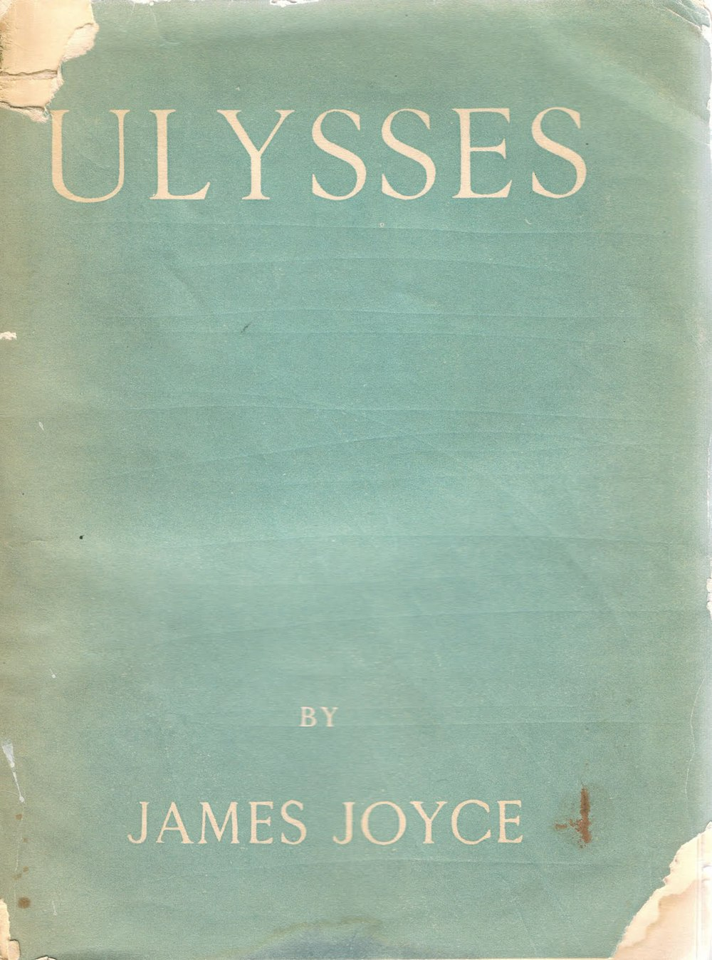 First edition cover of   Ulysses