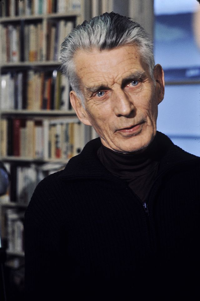 Samuel Beckett (via  Wikipedia )
