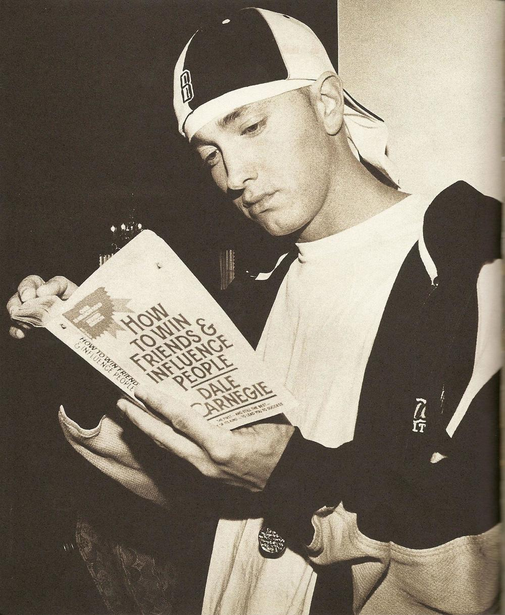 Proof of Eminem's literary prowess (via Fav Images)