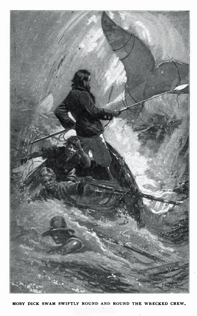 Illustration from a 1902 edition of Moby-Dick (via Wikimedia)