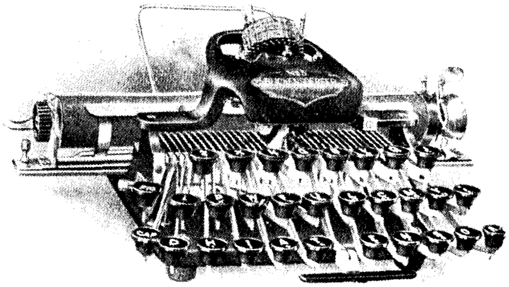 Blickensderfer Typewriter (via Wikimedia)