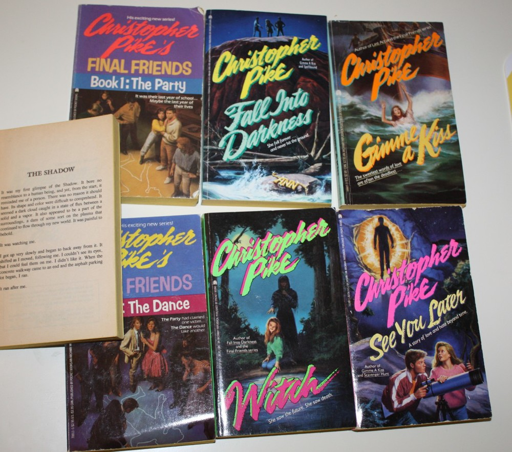 Christopher Pike novels (via  Naked Thanks )