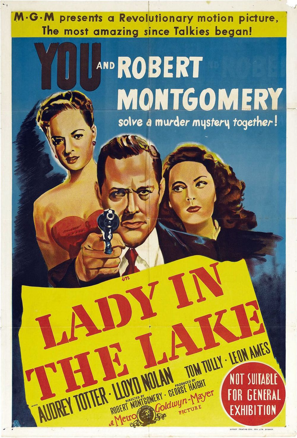 Poster for  Lady in the Lake  (via  IMP Awards )