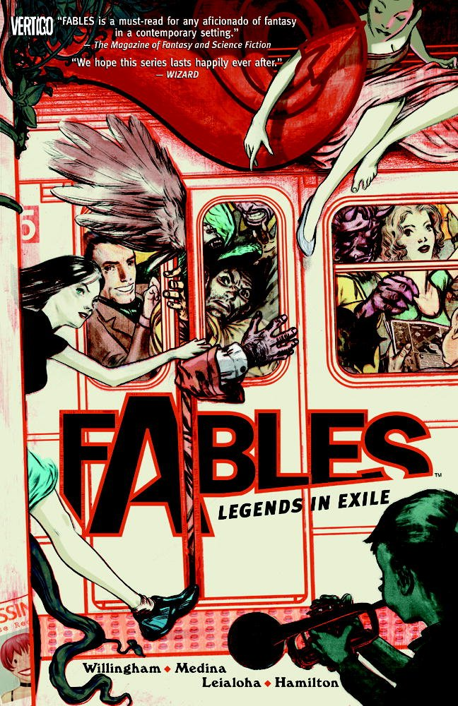 Fables by Bill Willingham (via Amazon)