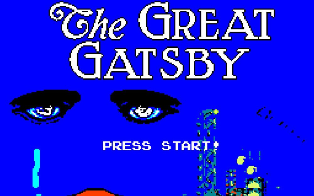 The Great Gatsby  video game (via  Parade )