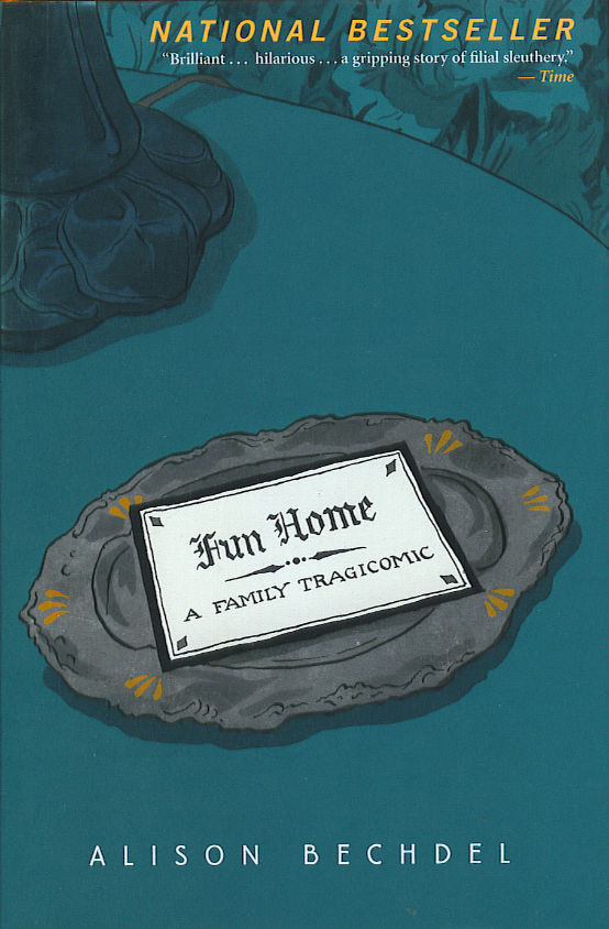 Fun Home by Alison Bechdel (via Comic Book Resources)