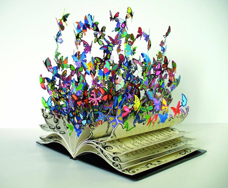 Book art (via Uber Inspiration)
