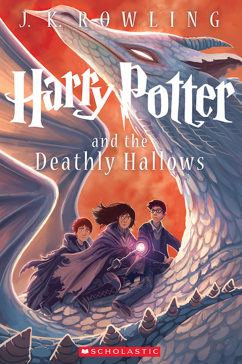 New cover of   Harry Potter and the Deathly Hallows   (via    Buzzfeed   )